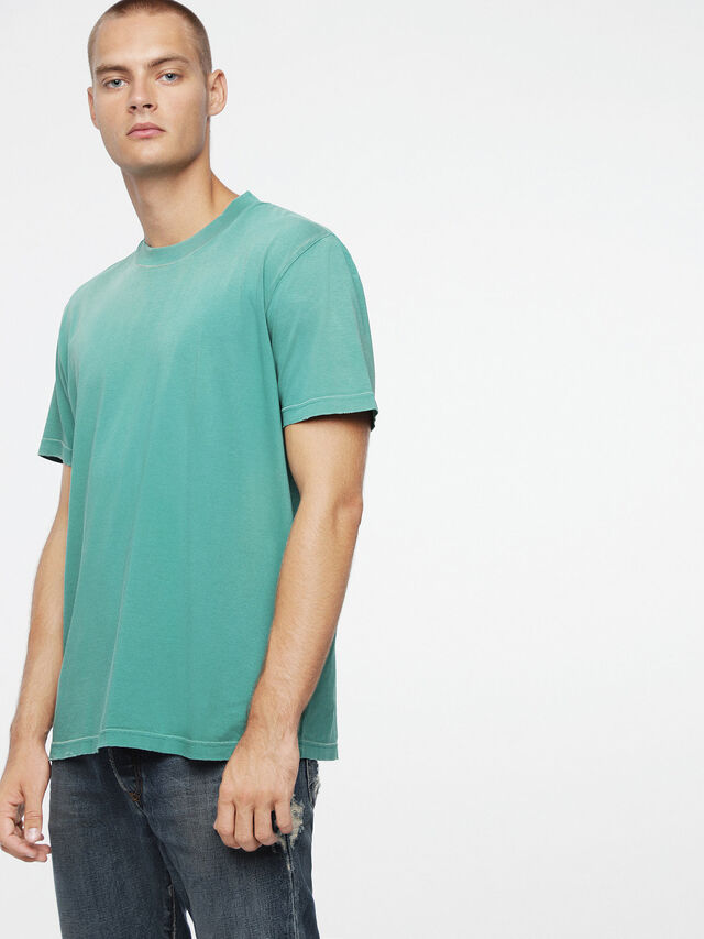Diesel T-JOEY-T, Wassergrün - T-Shirts - Image 1