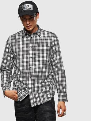 S-TROPP, Weiß/Schwarz - Hemden