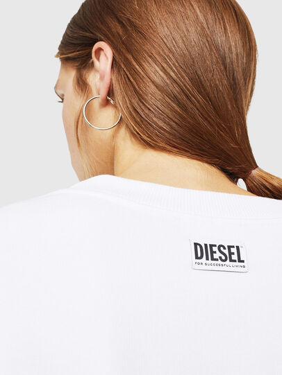 Diesel - F-AKUA, Weiß - Sweatshirts - Image 4