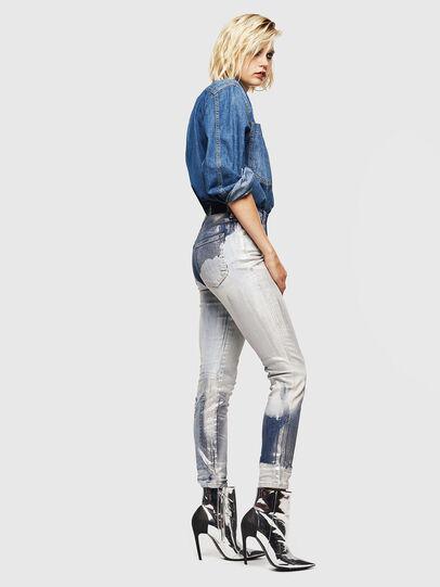 Diesel - Babhila 0094W, Mittelblau - Jeans - Image 7