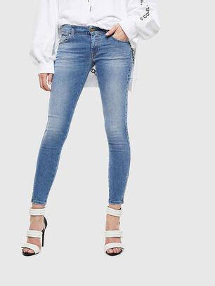 Slandy Low 0095B, Hellblau - Jeans