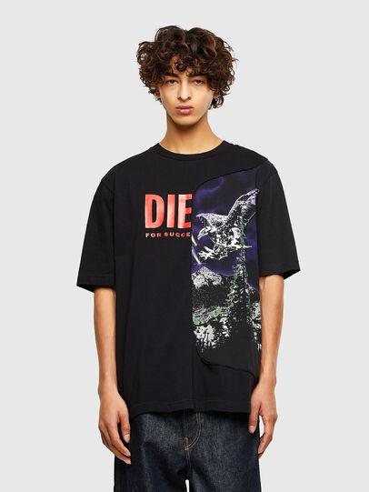 Diesel - T-BLAST, Schwarz - T-Shirts - Image 1