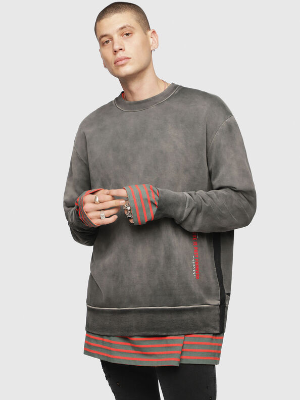S-BAY-YA, Schwarz/Grau - Sweatshirts