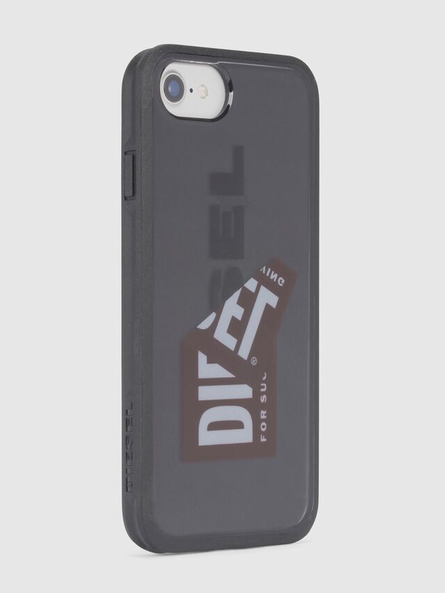 Diesel - STICKER IPHONE 8/7/6S/6 CASE, Schwarz - Schutzhüllen - Image 3