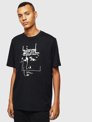 T-JUST-J14, Schwarz - T-Shirts