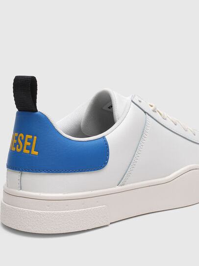 Diesel - S-CLEVER LOW LACE, Weiss/Blau - Sneakers - Image 4
