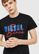 T-DIEGO-C2, Schwarz - T-Shirts