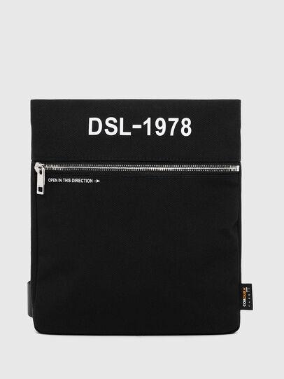 Diesel - F-URBHANITY CROSS ZP, Schwarz - Schultertaschen - Image 1