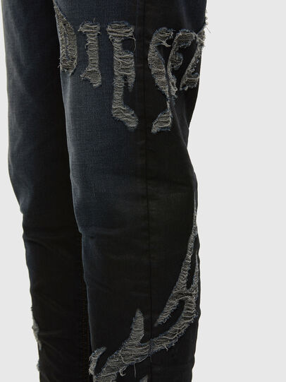Diesel - D-Vider JoggJeans 009HE, Dunkelblau - Jeans - Image 4