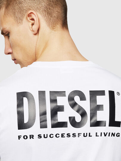 Diesel - LR-T-DIEGO-VIC, Weiß - T-Shirts - Image 5