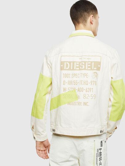Diesel - NHILL-SP, Weiß - Denim jacken - Image 2