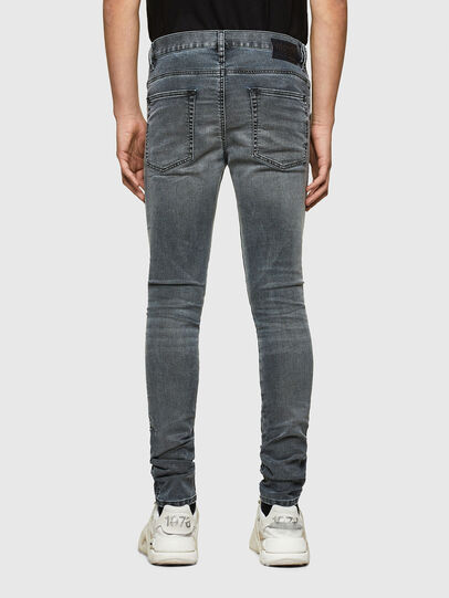 Diesel - D-Reeft JoggJeans® 069RD, Schwarz/Dunkelgrau - Jeans - Image 2