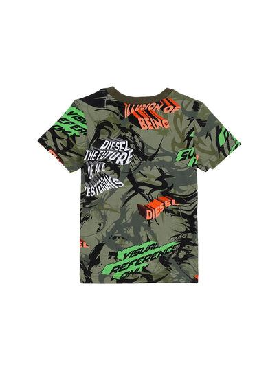 Diesel - TESEOB-R, Armeegrün - T-Shirts und Tops - Image 2