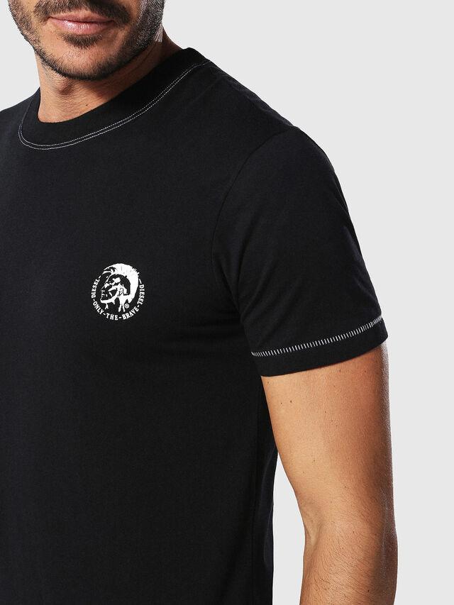 Diesel - UMLT-JAKE, Schwarz - T-Shirts - Image 3