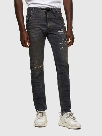 Diesel - Krooley JoggJeans® 069SX, Schwarz/Dunkelgrau - Jeans - Image 1