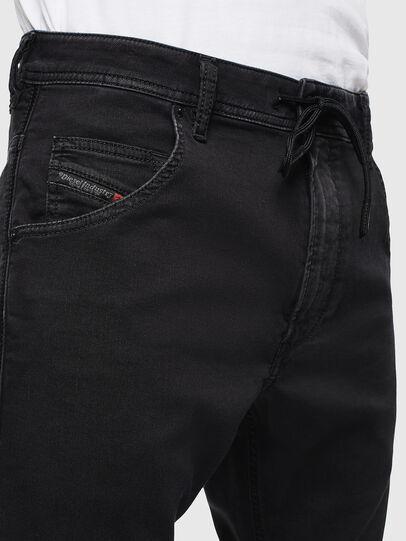 Diesel - Krooley JoggJeans 0687Z, Schwarz/Dunkelgrau - Jeans - Image 5