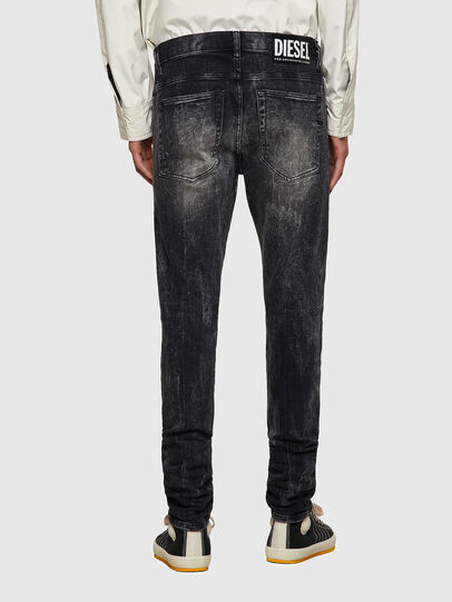 Diesel - D-Amny 009PX, Schwarz/Dunkelgrau - Jeans - Image 2