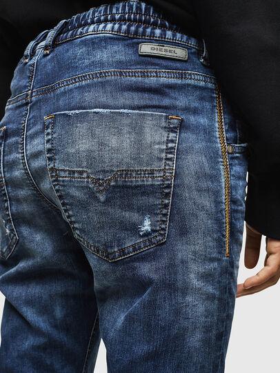 Diesel - Krailey JoggJeans 069AA, Dunkelblau - Jeans - Image 4