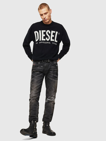 Diesel - K-LOGOS, Schwarz - Strickwaren - Image 7