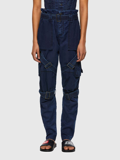 Diesel - D-Fedry JoggJeans® 0CBBZ, Dunkelblau - Jeans - Image 1