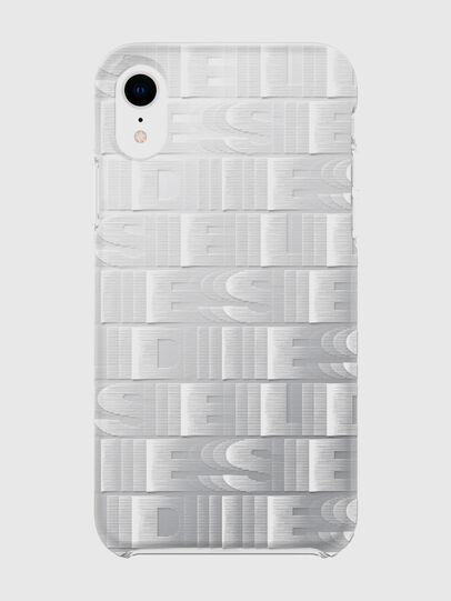 Diesel - DIESEL PRINTED CO-MOLD CASE FOR IPHONE XR, Weiß - Schutzhüllen - Image 2