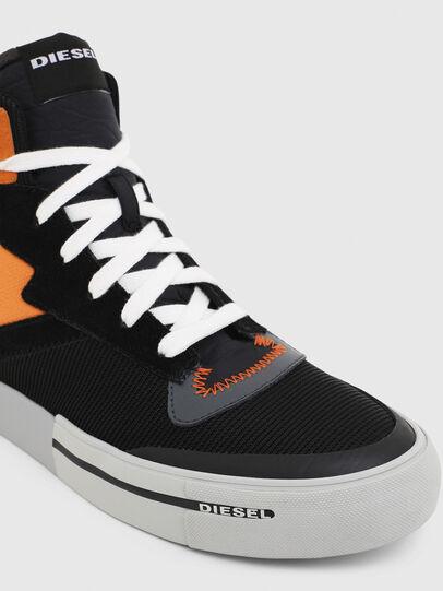 Diesel - S-DESE MS, Schwarz/Orange - Sneakers - Image 4