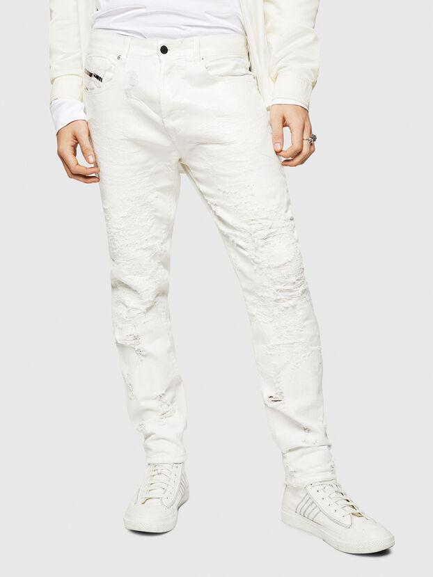 Mharky 069GY, Weiß - Jeans