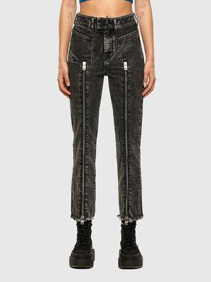D-Earlie 009DN, Schwarz/Dunkelgrau - Jeans