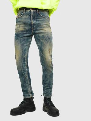 D-Eetar 0098G, Mittelblau - Jeans