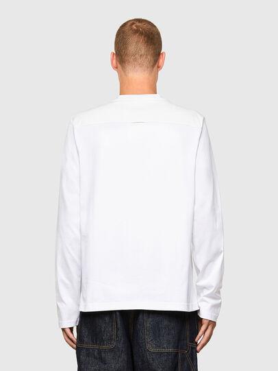 Diesel - T-TASK-LS, Weiß - T-Shirts - Image 2