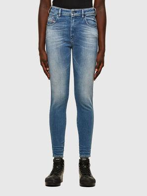 Slandy High 009JI, Hellblau - Jeans