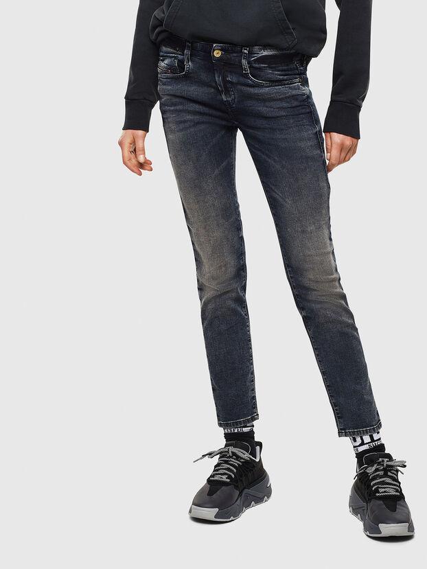 D-Ollies JoggJeans 069GD, Dunkelblau - Jeans