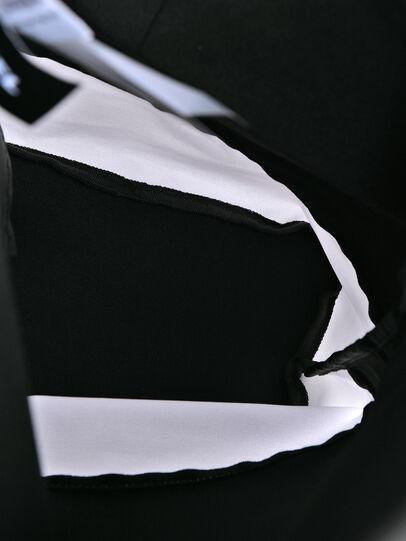 Diesel - BBAG-ZAINO, Schwarz/Weiß - Bademode-Accessoires - Image 4