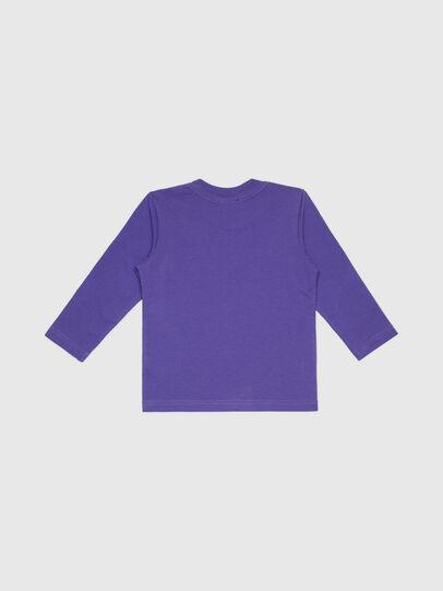 Diesel - TJUSTLOGOB-FL ML-R, Violett - T-Shirts und Tops - Image 2