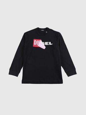 TEDRI OVER, Schwarz/ Rot - T-Shirts und Tops