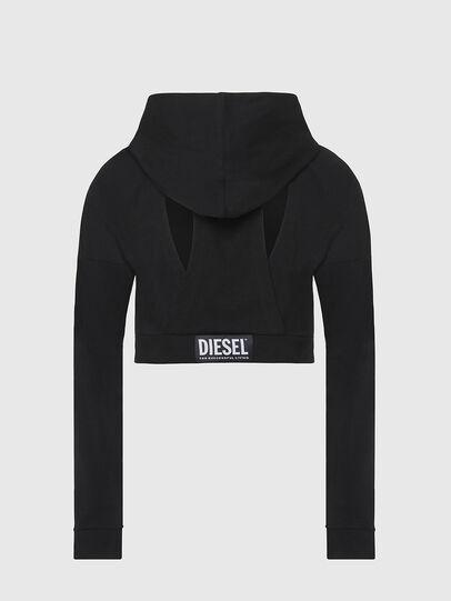 Diesel - UFLT-ANGHEL, Schwarz - Sweatshirts - Image 2