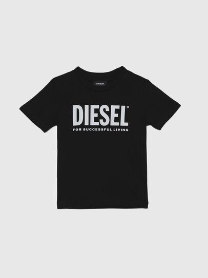 Diesel - TJUSTLOGOB-R, Schwarz - T-Shirts und Tops - Image 1