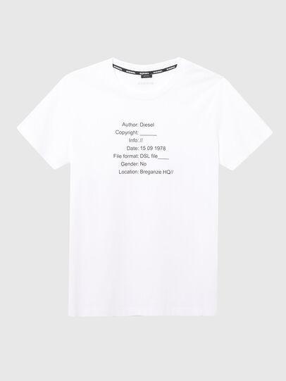 Diesel - UFTEE-ELODIE, Weiß - T-Shirts - Image 1