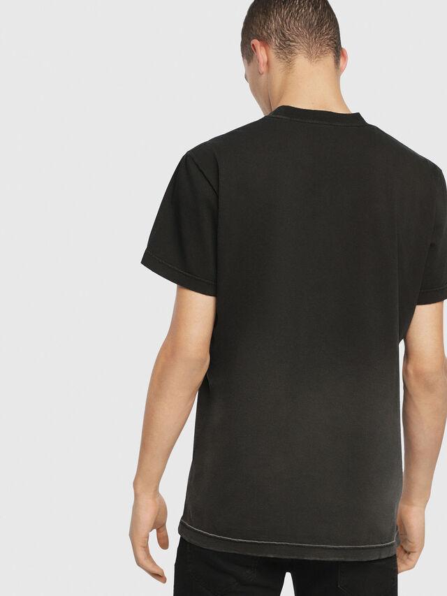 Diesel - SE-DIEGO, Schwarz - T-Shirts - Image 3