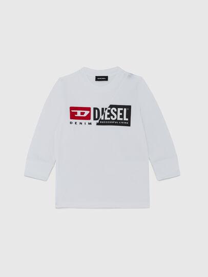 Diesel - TDIEGOCUTYB ML-R, Weiß - T-Shirts und Tops - Image 1