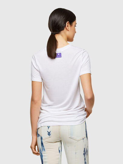 Diesel - T-SILY-A8, Weiß - T-Shirts - Image 2