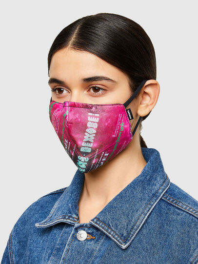 Diesel - FACEMASK-UNIVERSE-PI, Rosa - Weitere Accessoires - Image 3