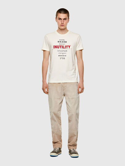 Diesel - T-DIEGOS-B6, Weiß - T-Shirts - Image 4