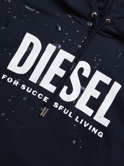 Diesel - S-GIR-HOOD-DIVISION-, Dunkelblau - Sweatshirts - Image 6