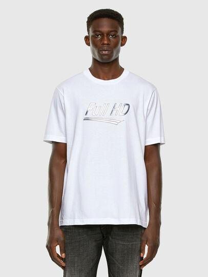 Diesel - T-JUST-SLITS-X83, Weiß - T-Shirts - Image 5