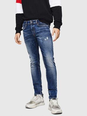 Sleenker 069HQ, Mittelblau - Jeans