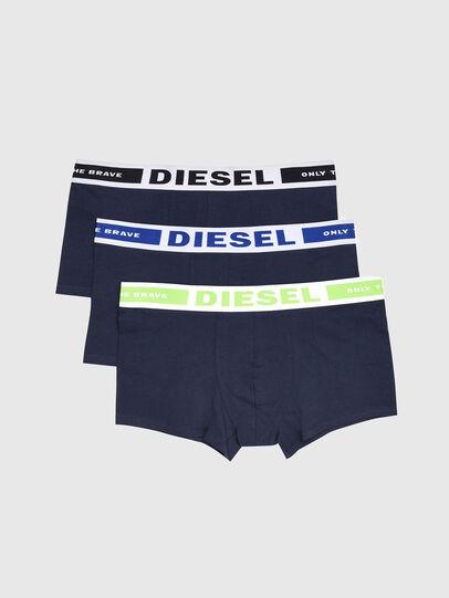 Diesel - UMBX-KORYTHREEPACK, Marineblau - Boxershorts - Image 1