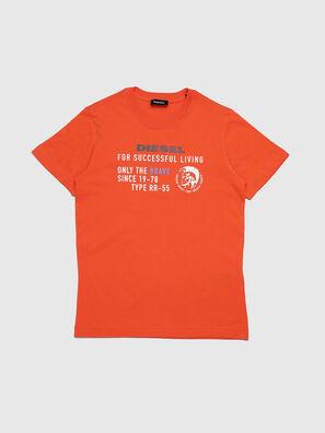 TDIEGOXBJ, Orange - T-Shirts und Tops