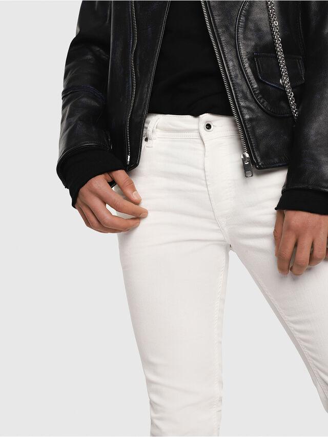 Diesel - Sleenker 084CY, Weiß - Jeans - Image 3