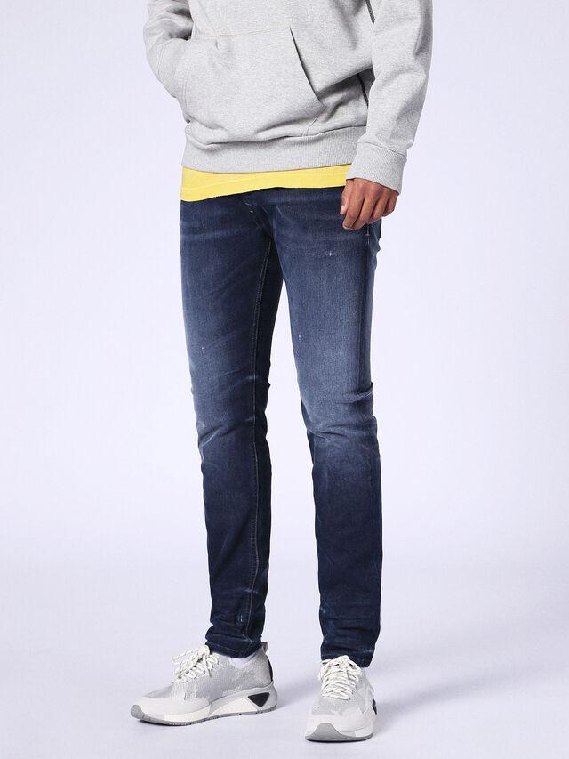 SLEENKER 084MV, Jeansblau